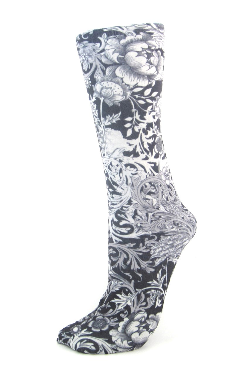 Vines & Roses Compression Sock