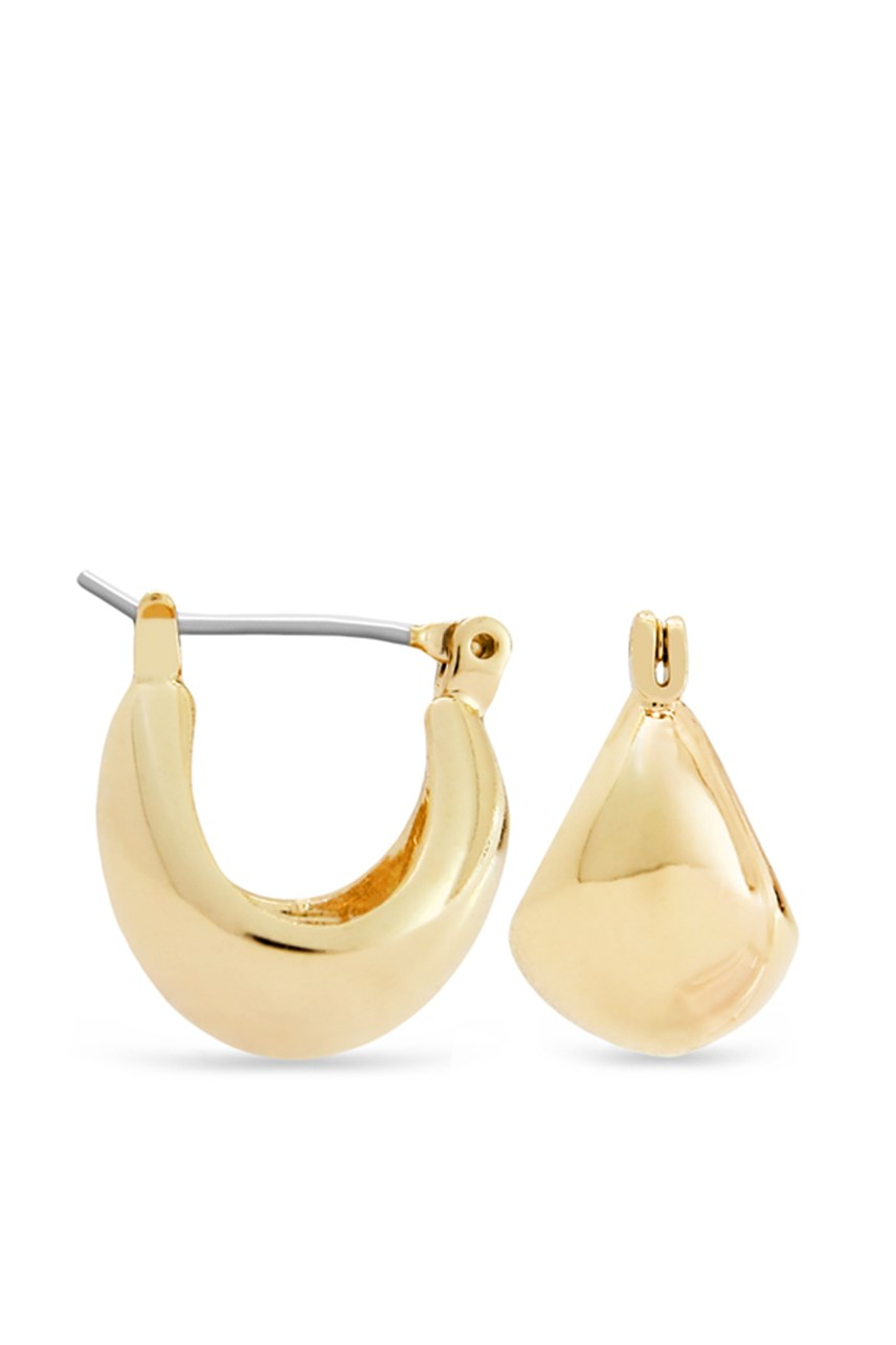 Thick Contoured Earrings