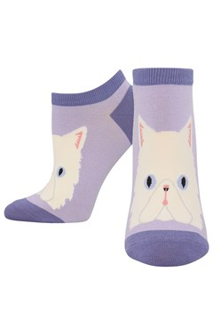 Perfectly Persian Ped Sock LAVENDER 1