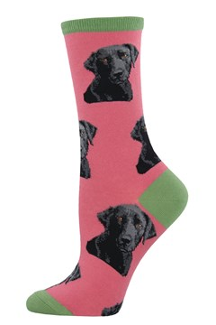 Lab Or Of Love Crew Sock DUSTY PINK 1