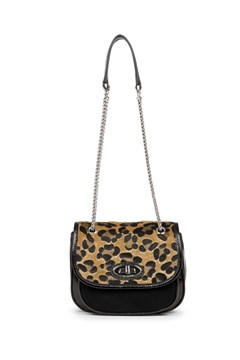 Retro Janis Shoulder Bag BLACK LEOPARD 1