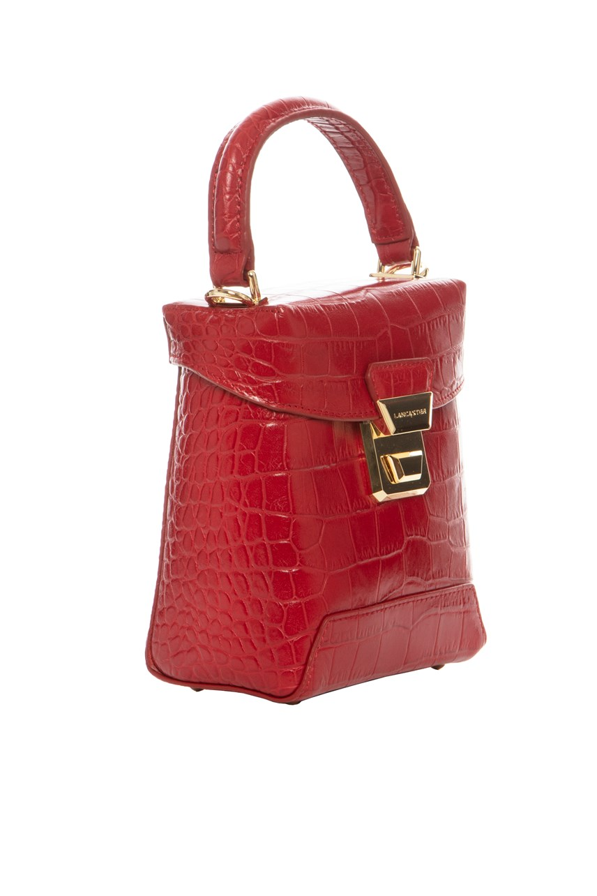 Exotic Croc Small Top Bag