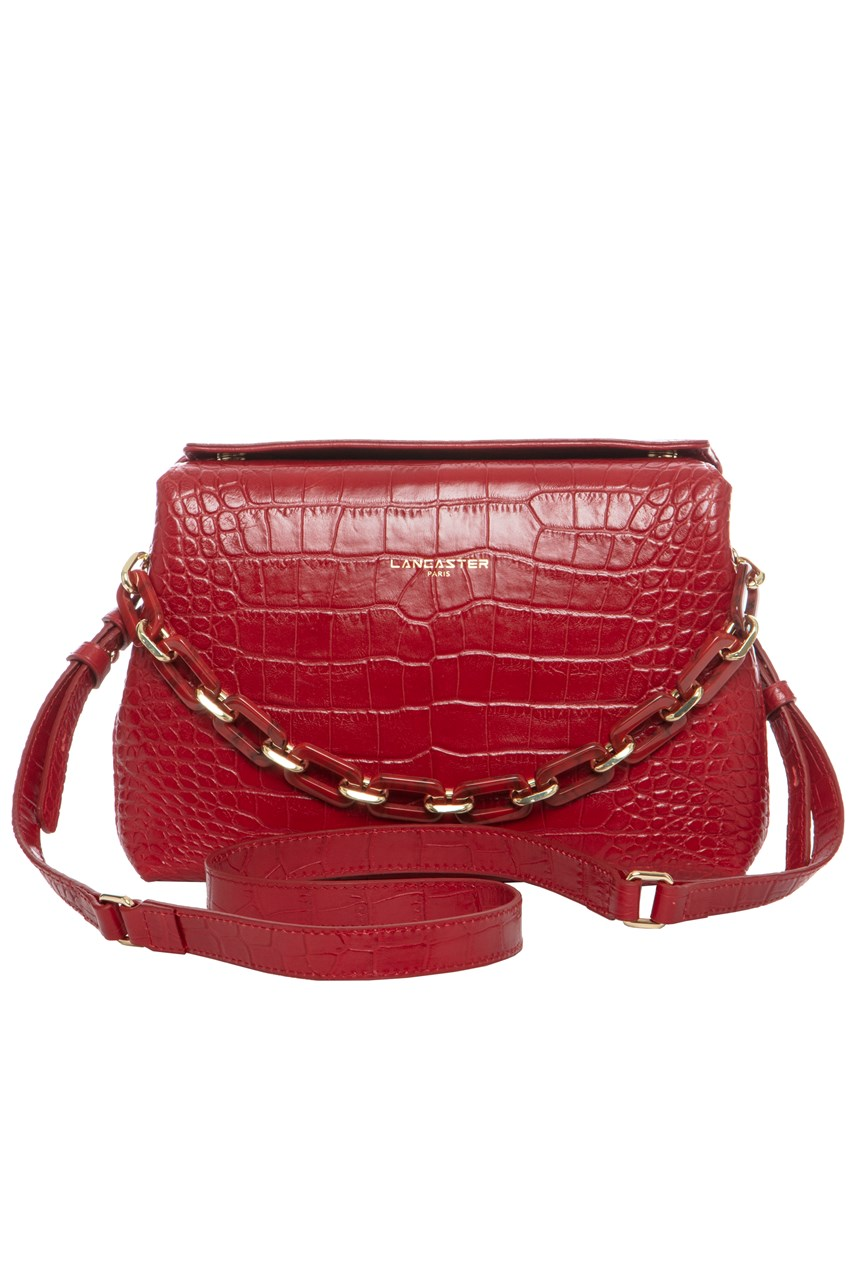 Exotic Croc Small Shoulder Bag