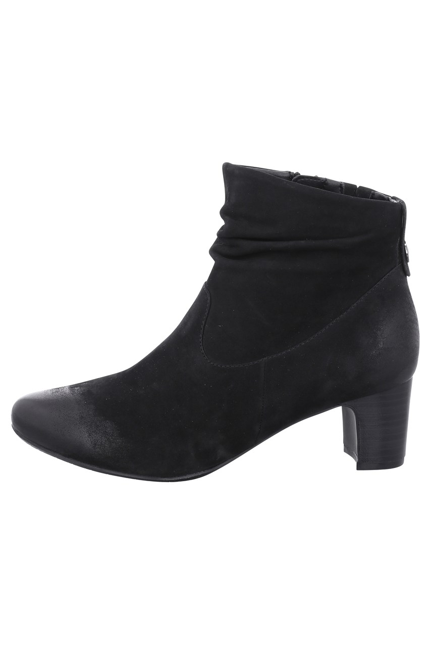 Lecia Mid Heel Ankle Boot