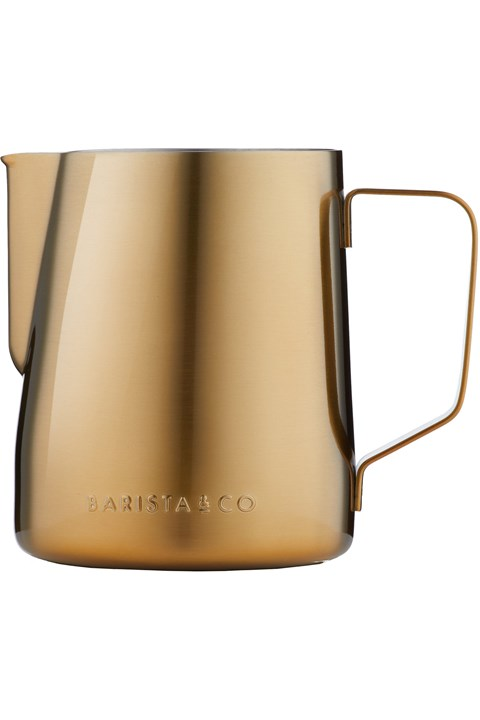 Gold Milk Jug - gold