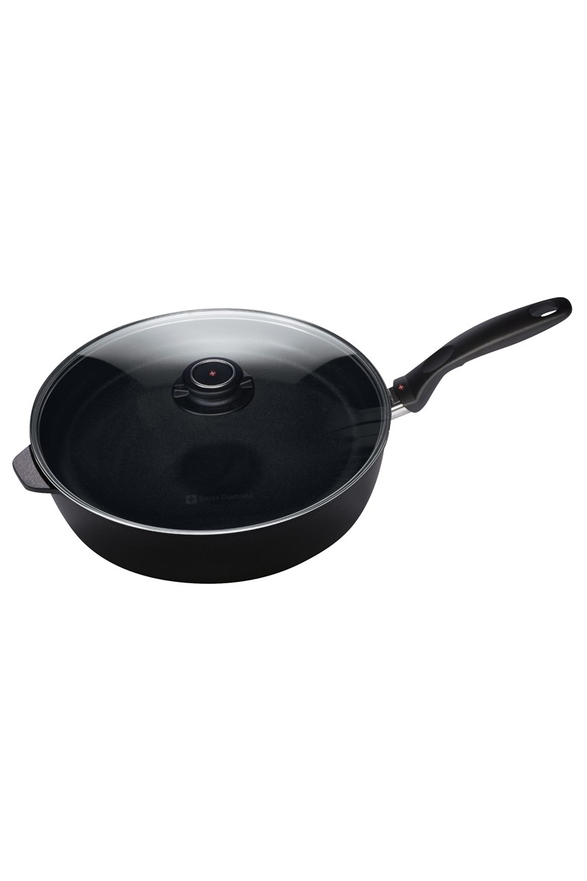 Saute Pan With Lid - 28cm