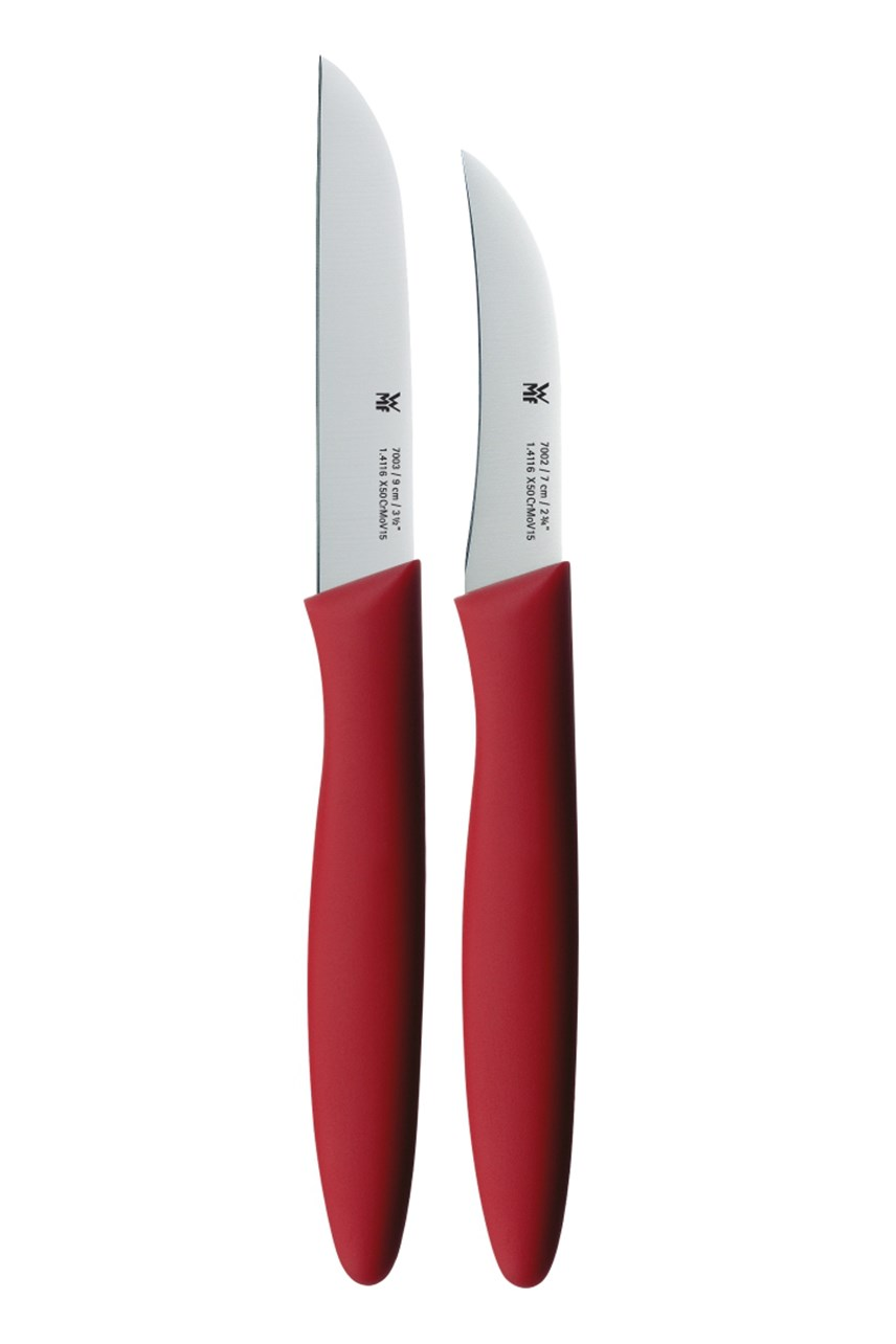 2-Piece Knife Set - Red