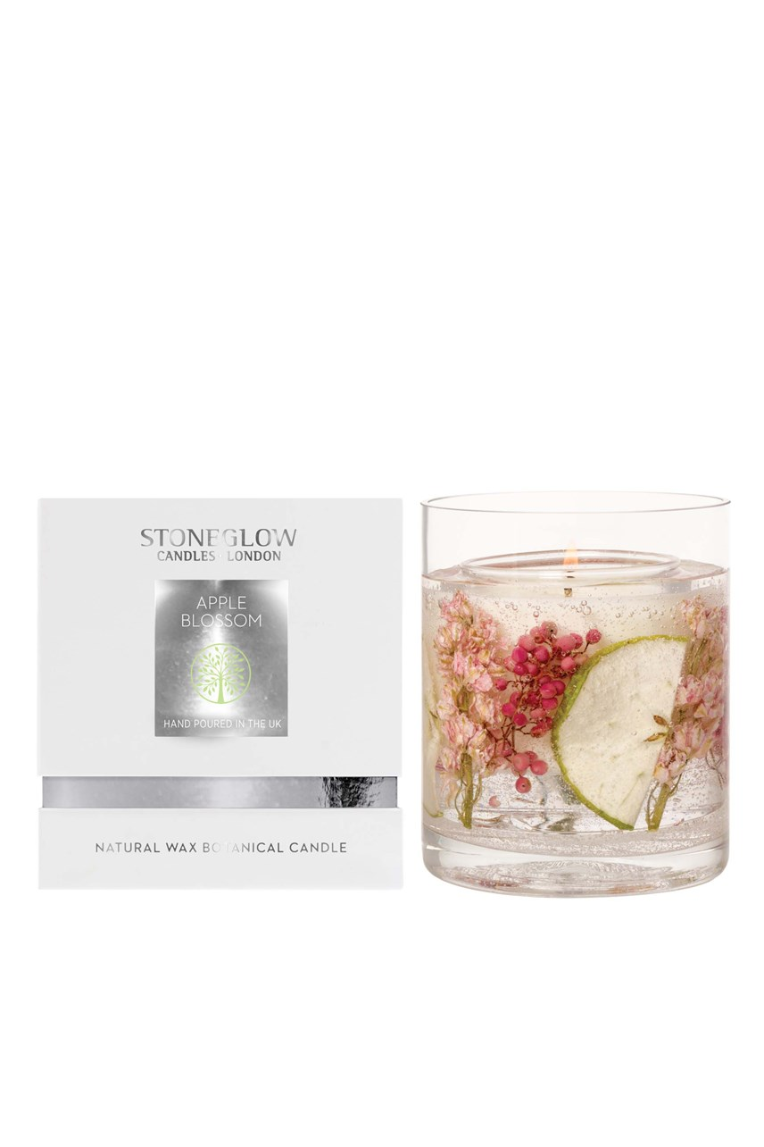 Natures Gift Apple Blossom Natural Wax Candle