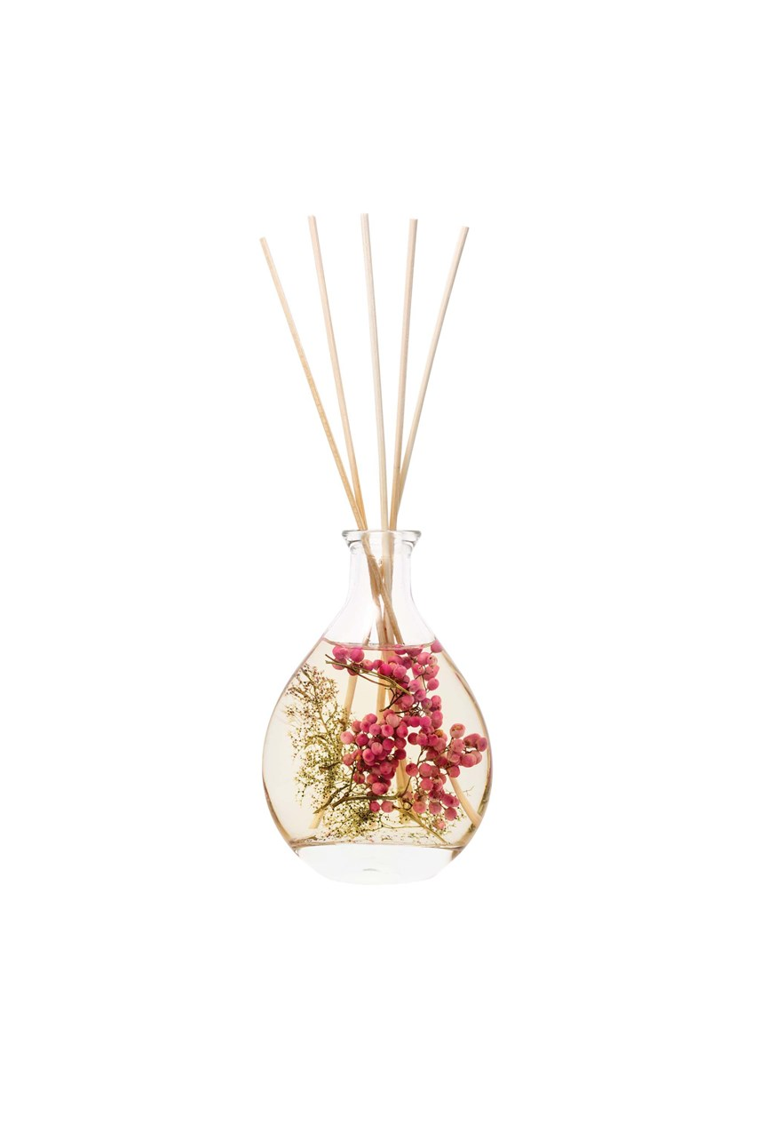 Natures Gift Pink Pepper Flowers Reed Diffuser