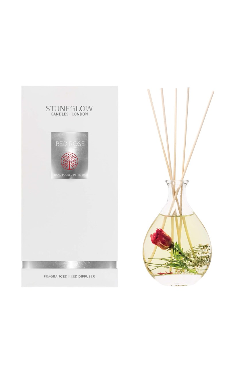 Natures Gift Red Rose Reed Diffuser