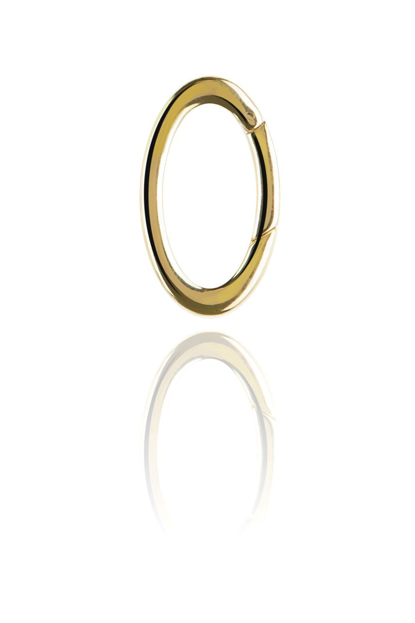 Gold Oval Link