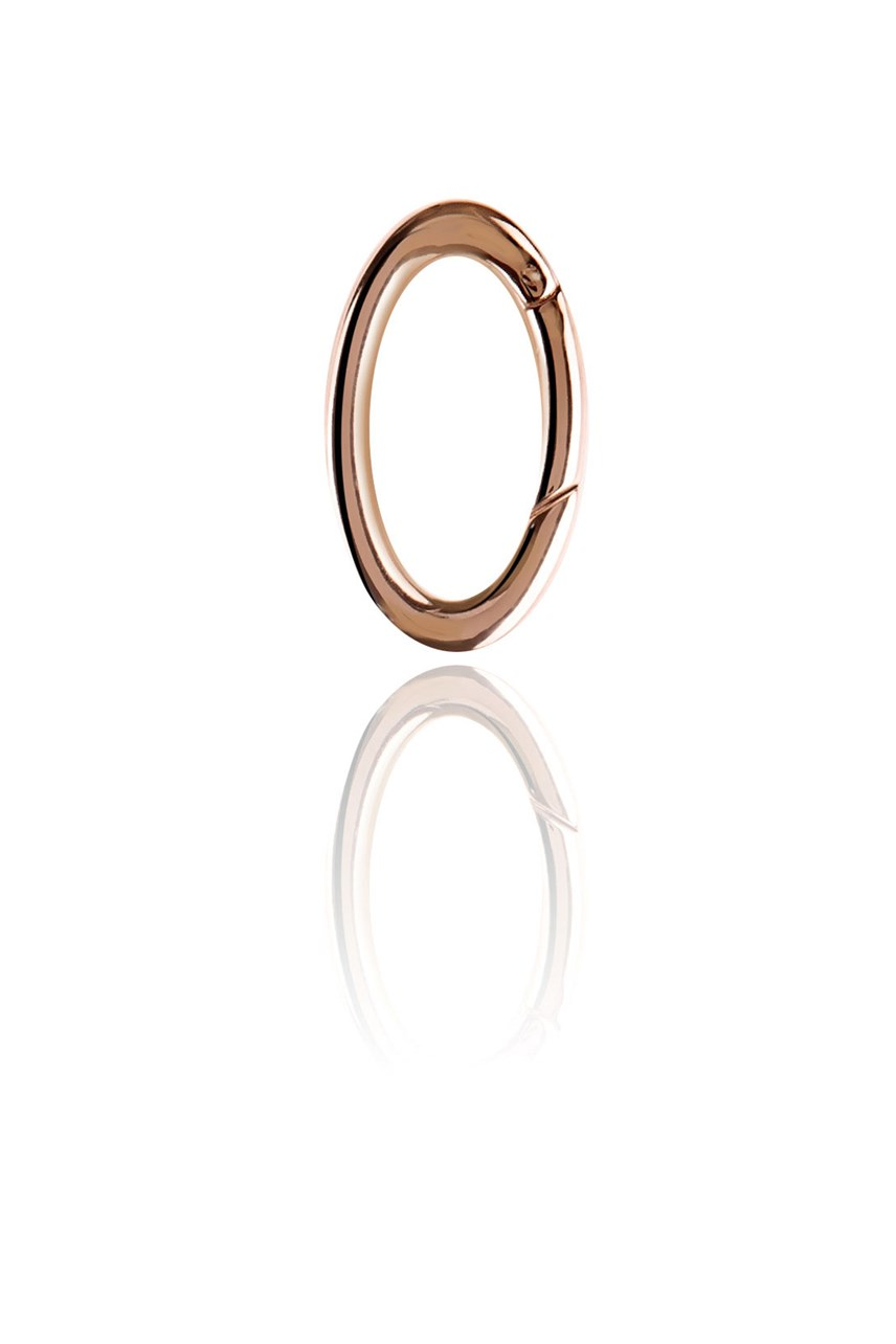 Rose Gold Oval Link
