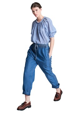 Bloom Studland Beach Pants CHBRY BLUE 1