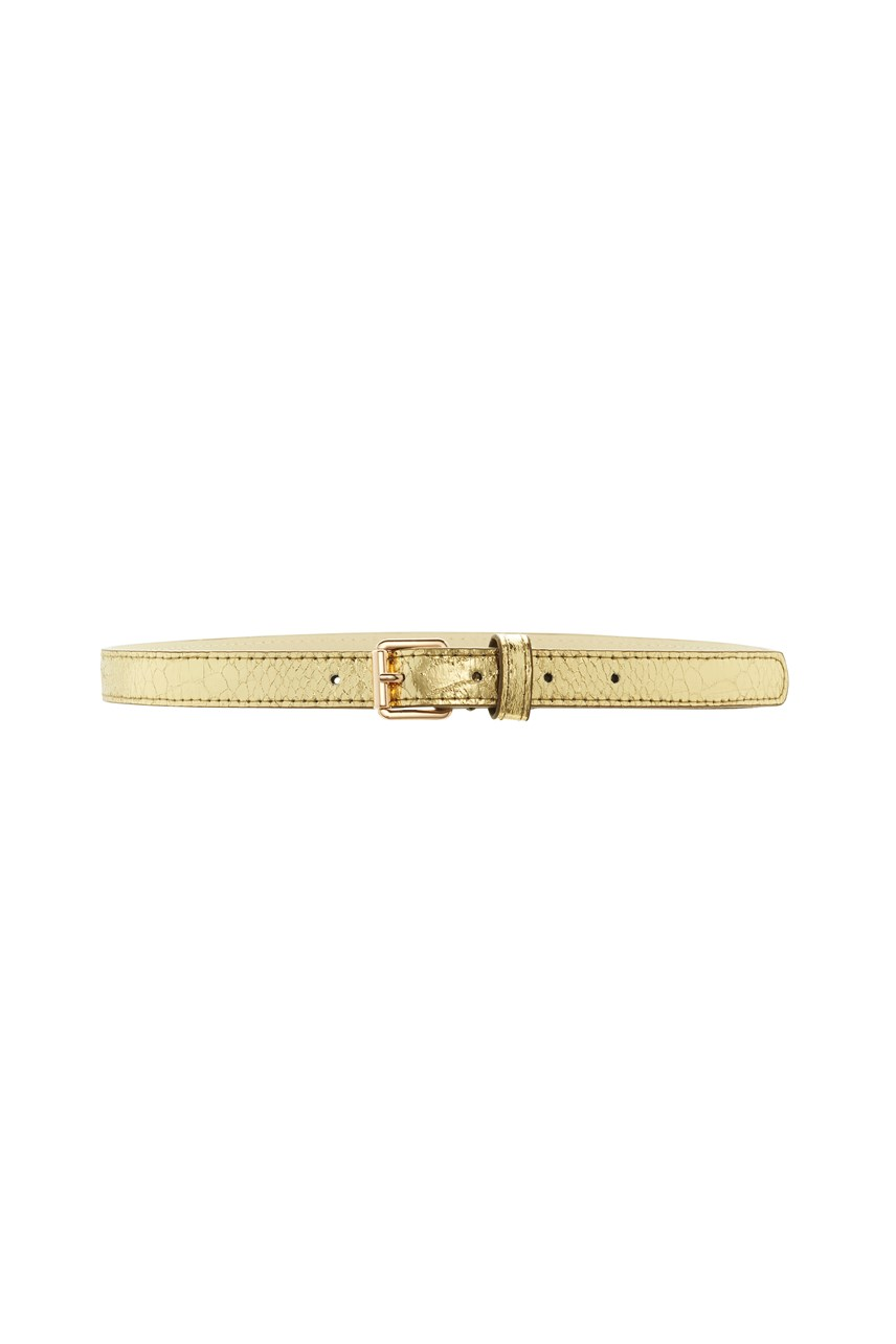 Bloom Serpent Skinny Belt Snake