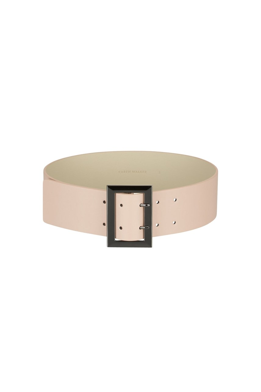 Leather Waist Belt Dusty Pink