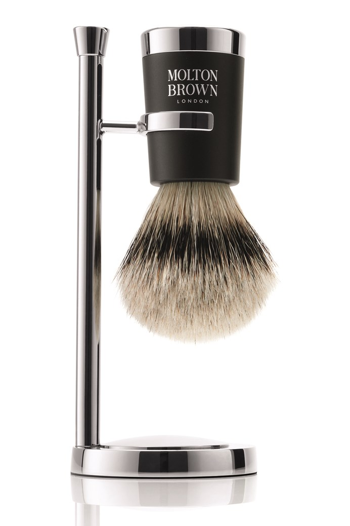 The Shaving Brush and  Stand