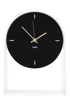 Air Du Temps Clock CRYSTAL BLACK 1