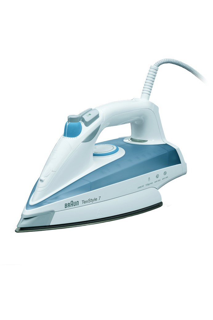 'TexStyle 7' Eloxal Steam Iron