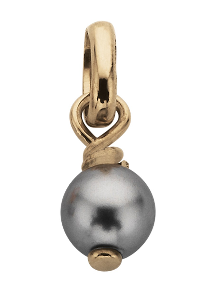 Grey Pearl Synthetic Pendant