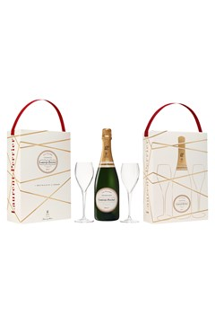 Laurent-Perrier La Cuvée Gift Pack With 2 Flutes 1