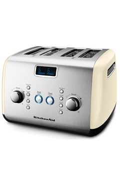 4 Slice Artisan Toaster - KMT423 Almond Cream 1