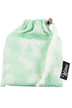 Produce Bag Combo With Pouch MINT AND WHITE 1