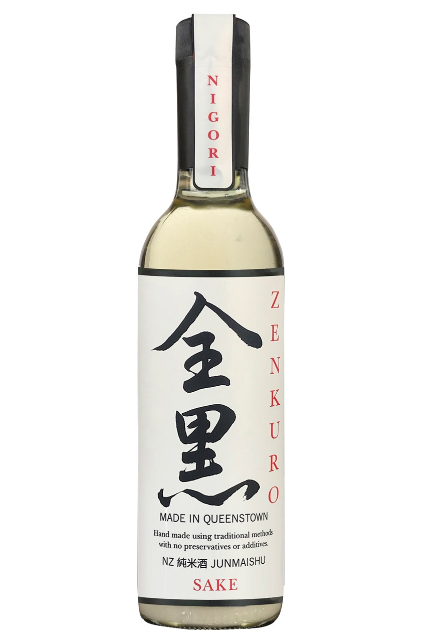White Cloud Nigori Junmai Sake - 750ml