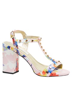 Delilah Leather Heel - tutti frutti