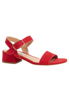 Julianne Calf Leather Sandal RED 1