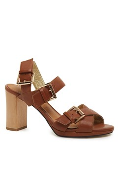 Alicia High Heel Sandal TAN 1