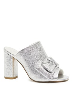 Claudia Mules SILVER CRUSH 1