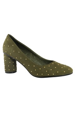 Anna Court Shoe - khaki