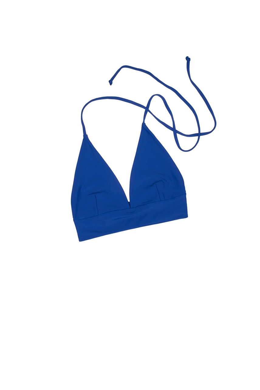 Halter Triangle Swim Top