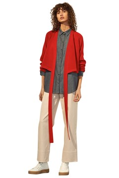 Composure Cardigan RED 1