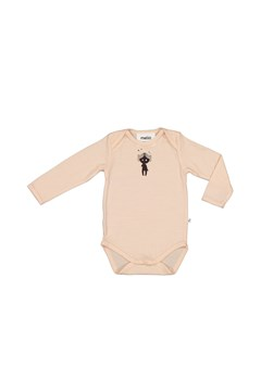 Long Sleeve Bodysuit DUSKY PEACH 1