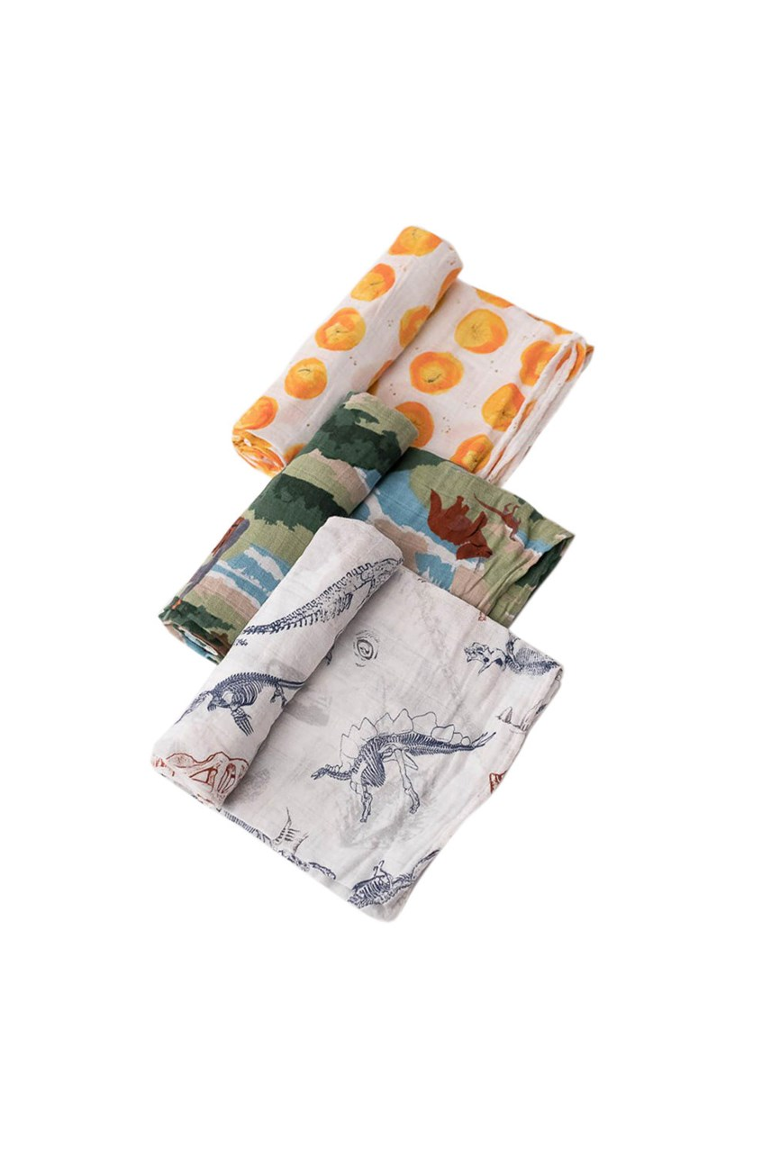 Cotton Muslin Swaddle - 3 Pack