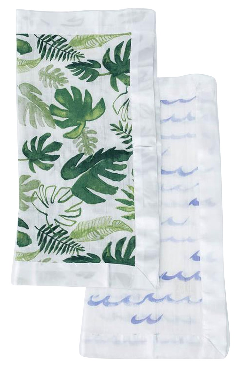 Cotton Muslin Security Blanket 2 Pack