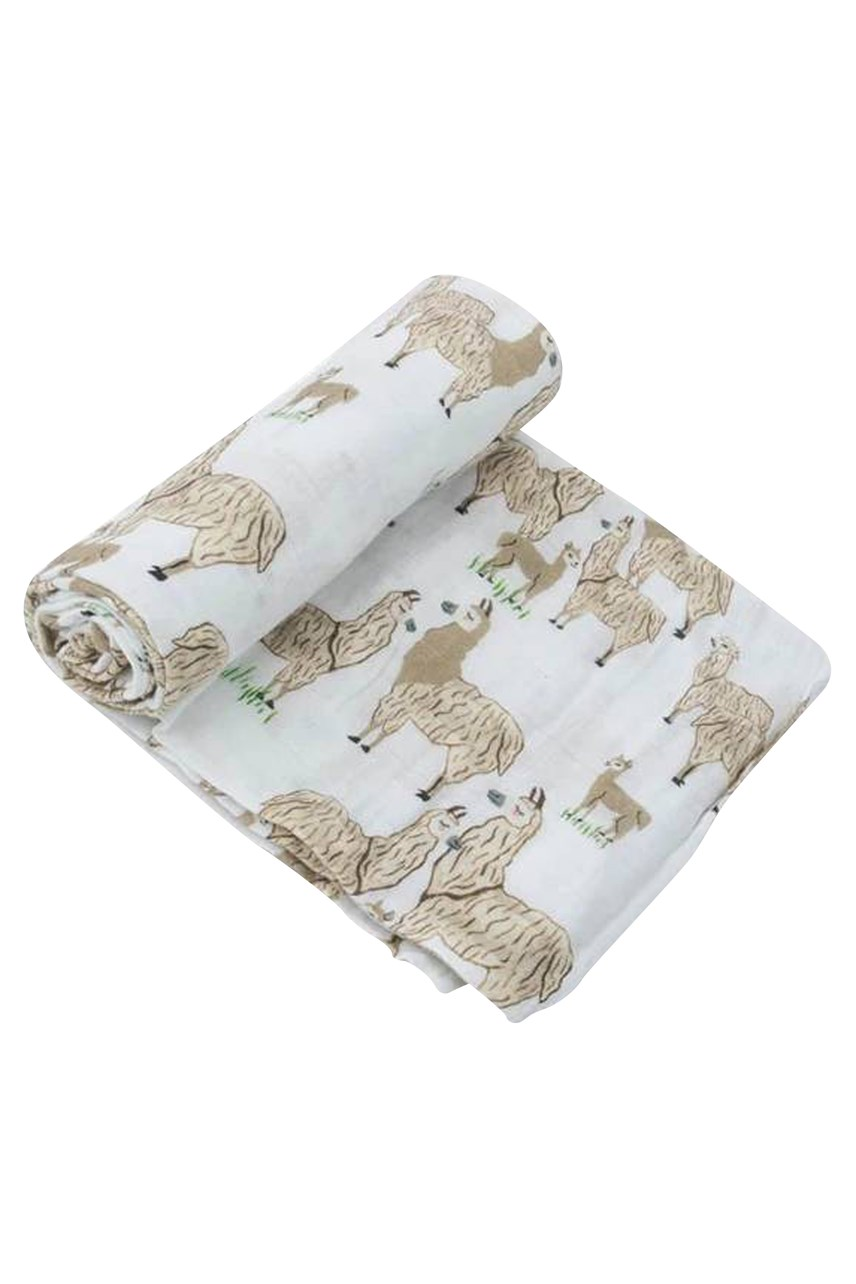 Cotton Muslin Swaddle Blanket