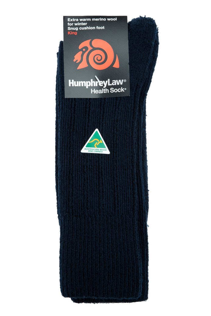 Fine Merino Wool Health Sock® King