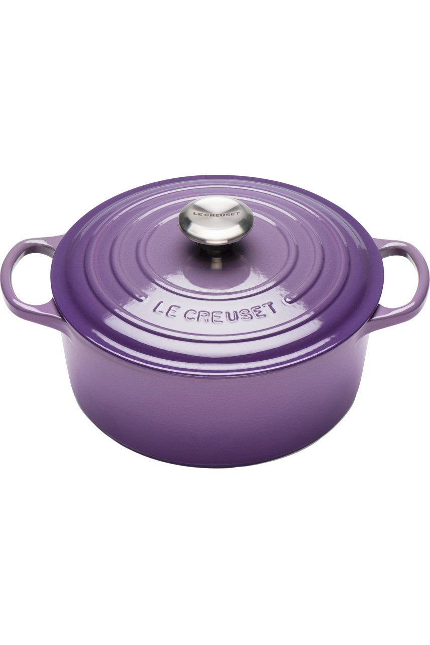 Signature Cast Iron Round Casserole