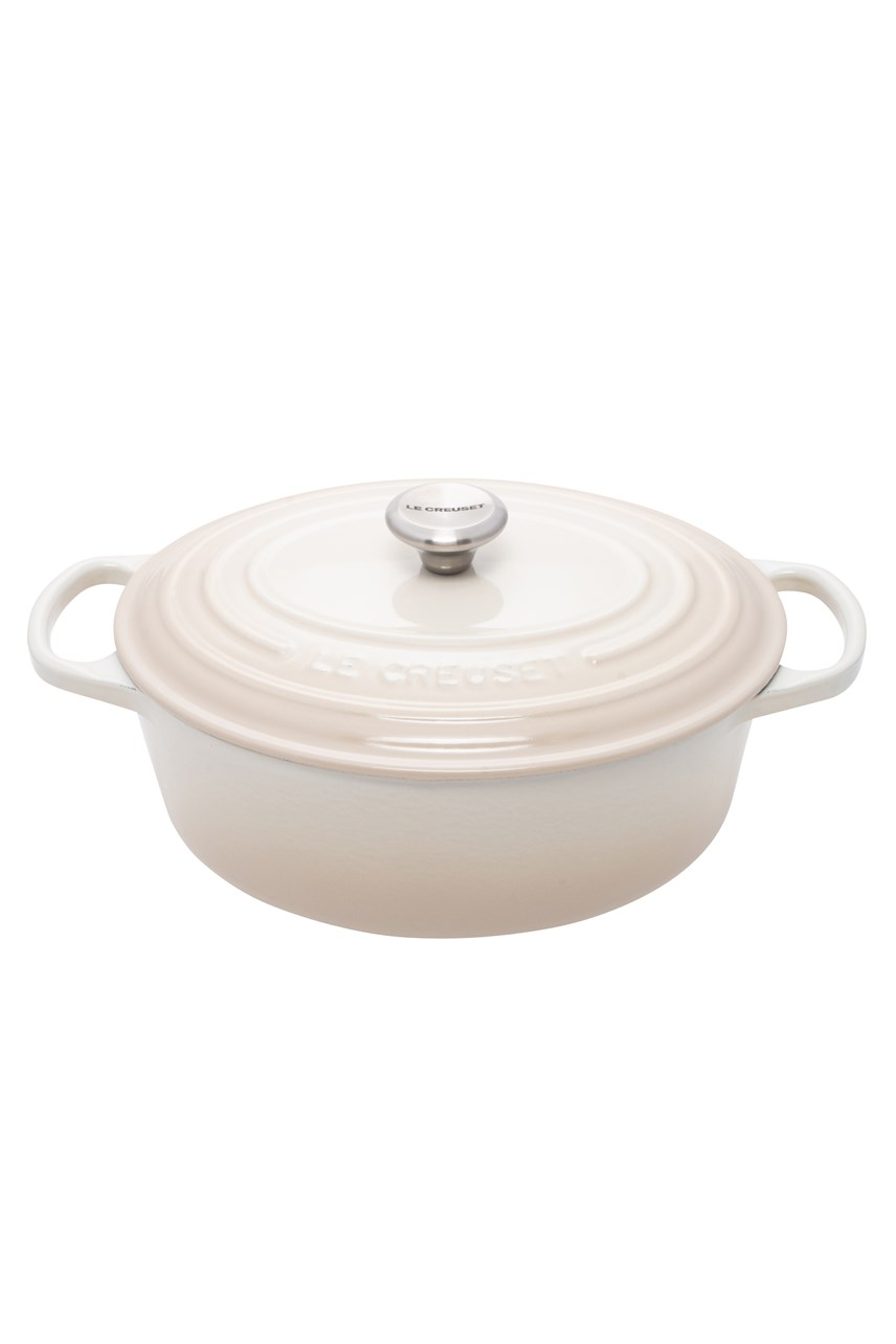 Signature Cast Iron Oval Casserole - 25cm