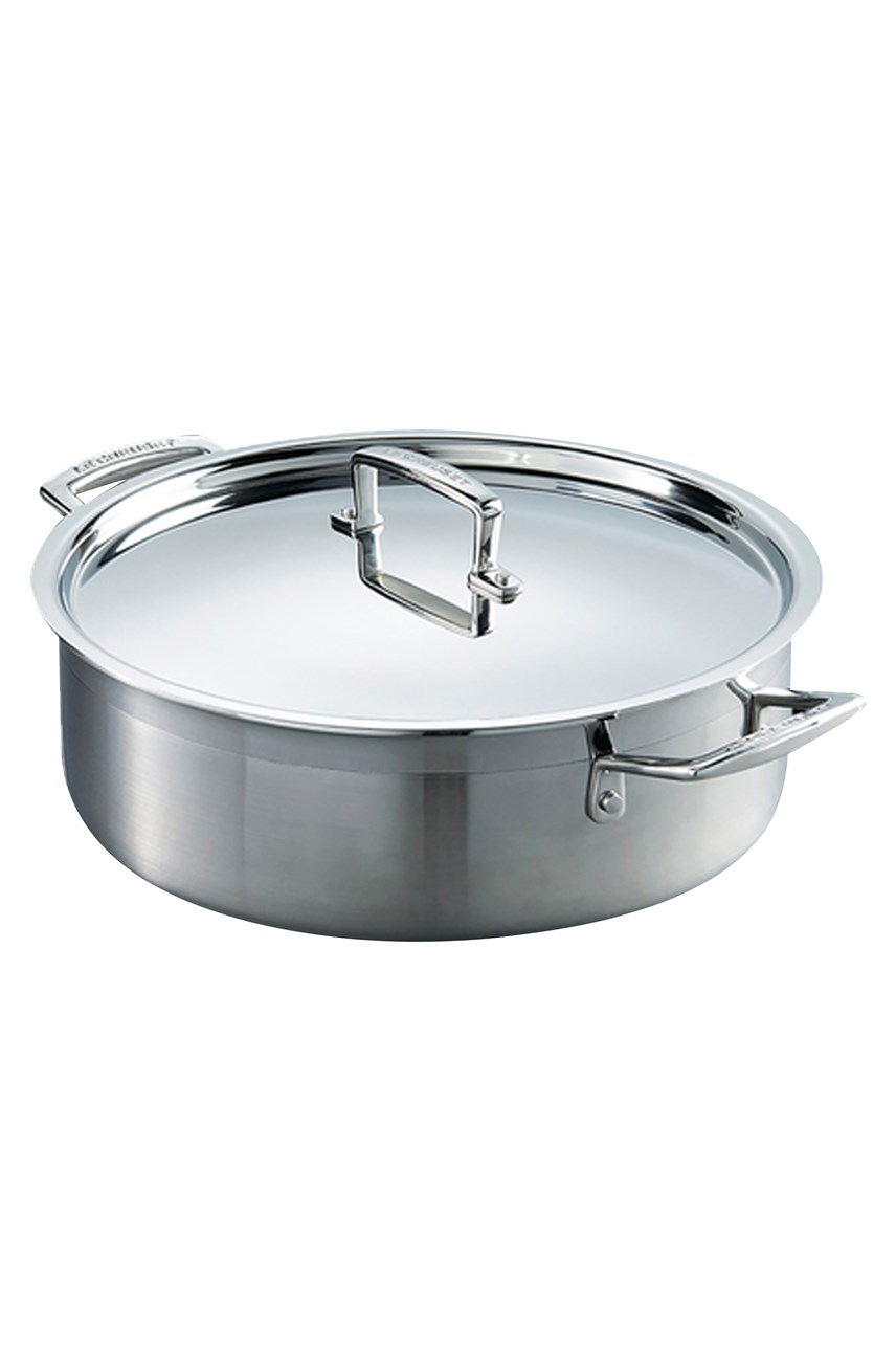3-Ply Stainless Steel Sauteuse Pan 28cm