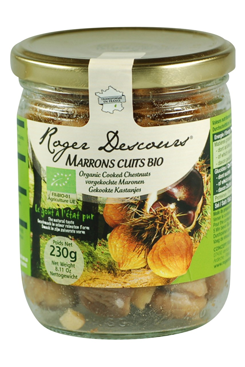 Organic Whole Chestnuts Jar