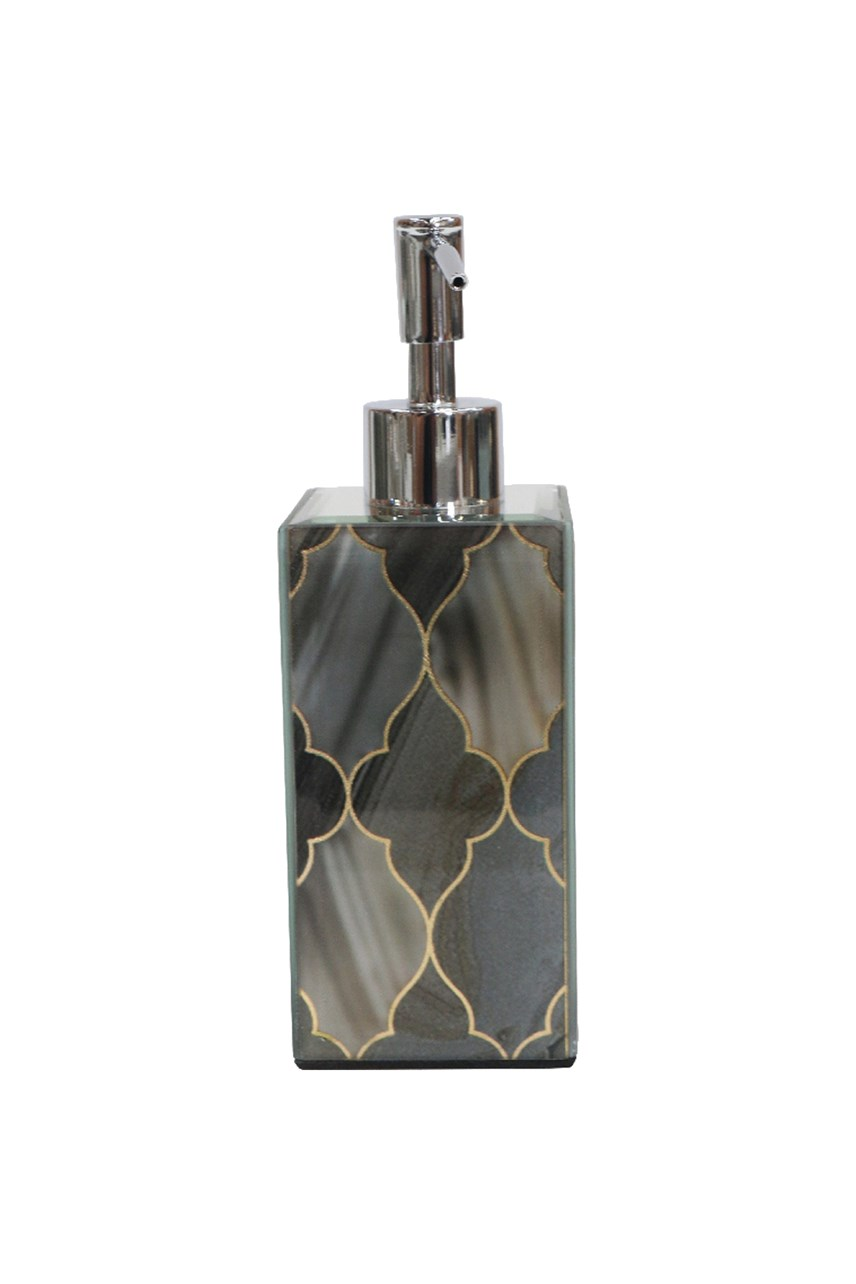 Taupe Soap Dispenser
