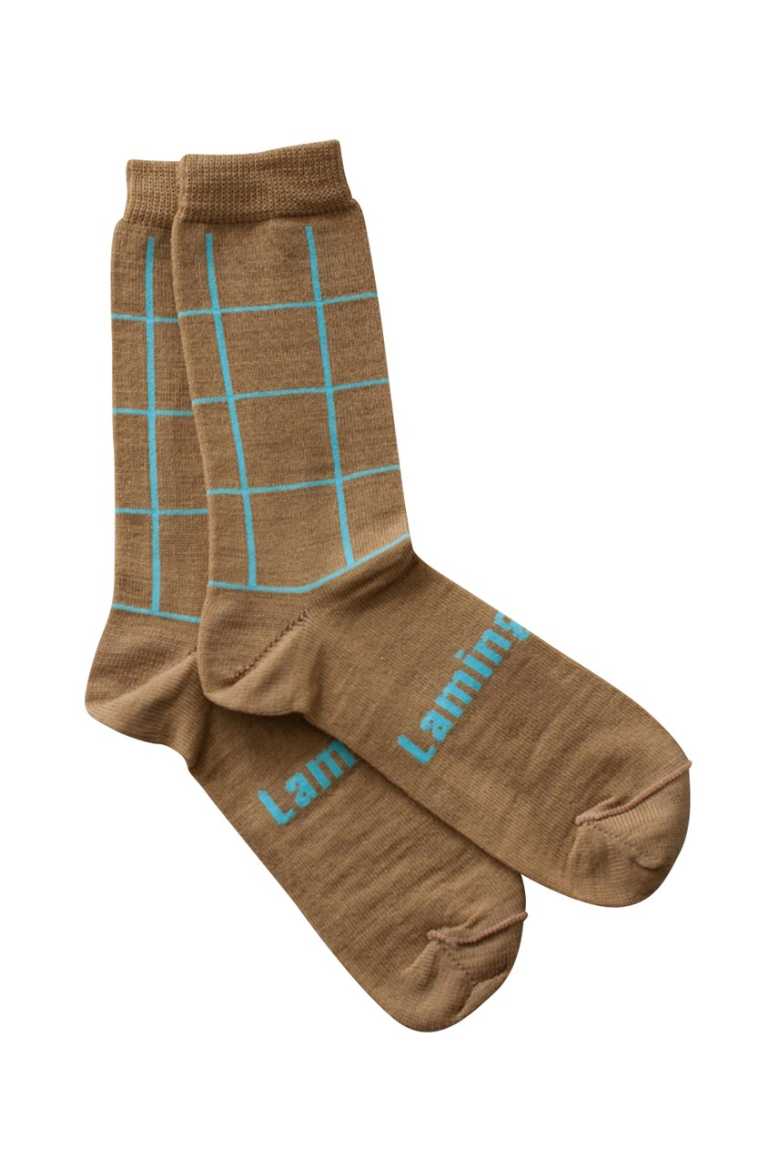 Merino Wool Crew Socks - Nile
