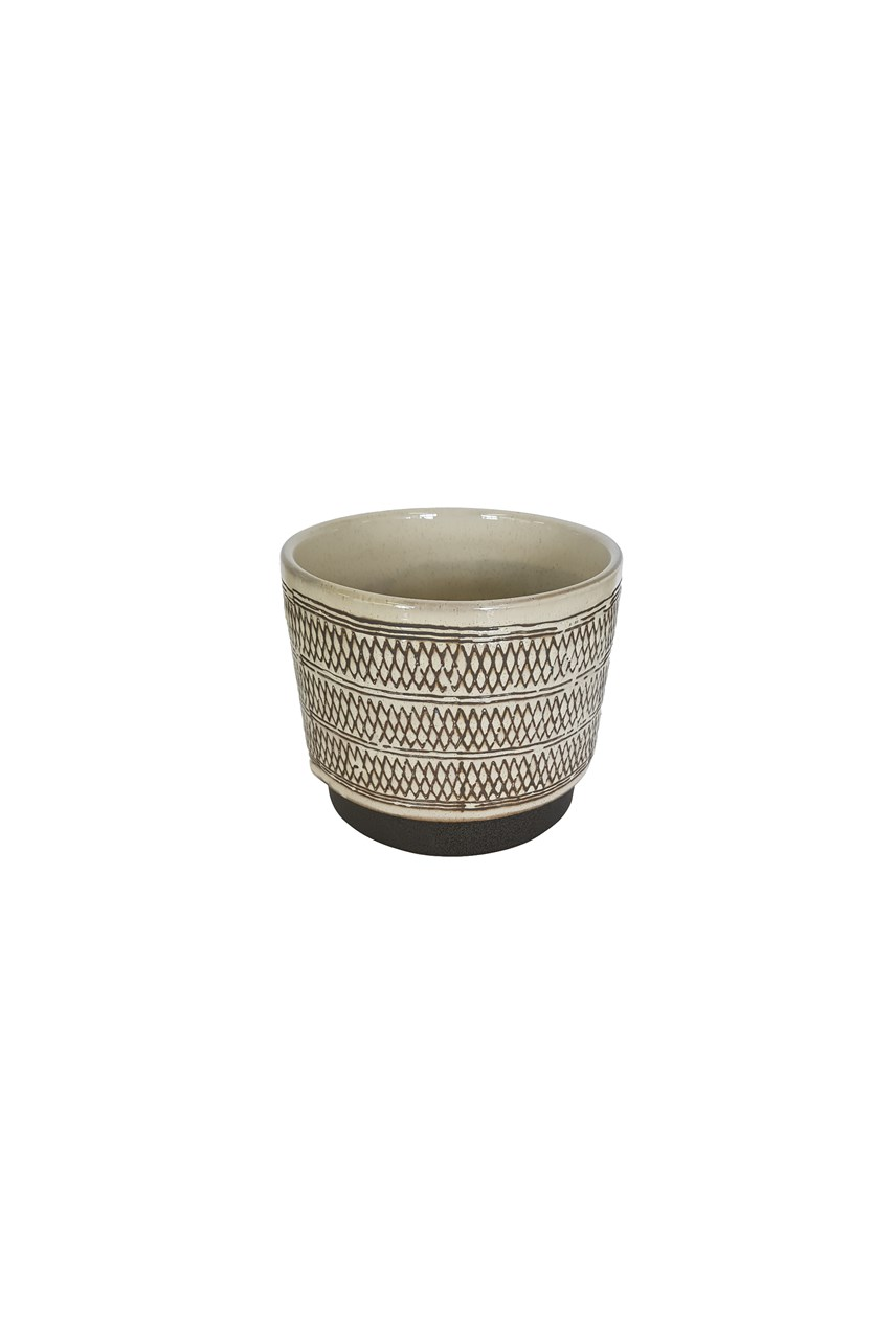 Geometric Tribal Planter