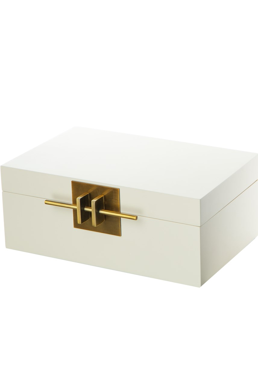 Ivory Lacquered Box