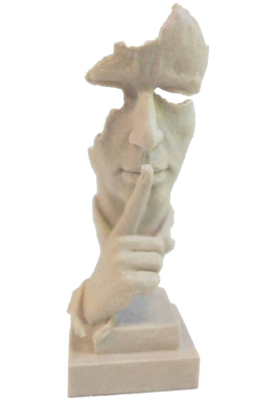 Mini Sanstone Head - The Whisperer