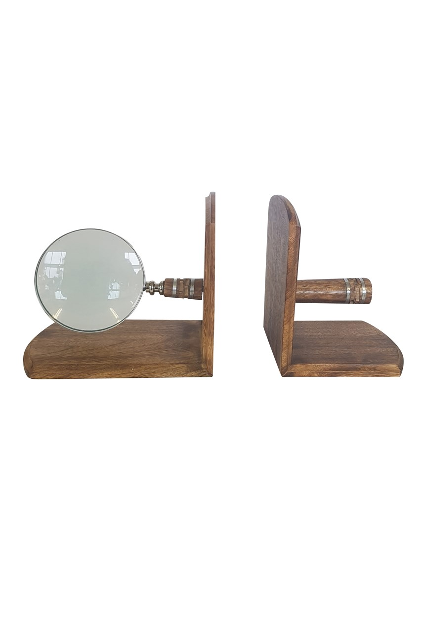 Magnifier Bookends Set of 2