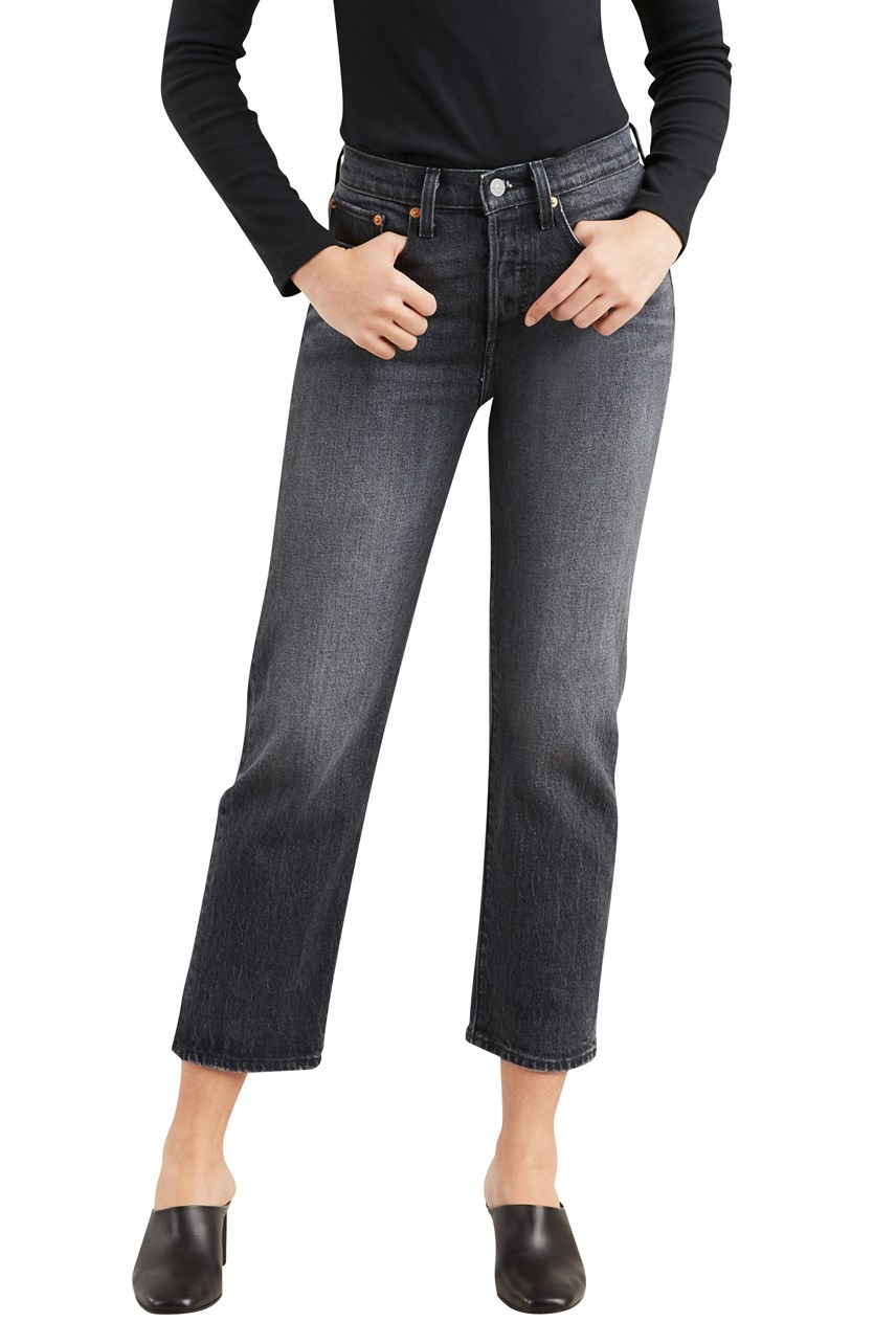Wedgie Straight Leg Jeans